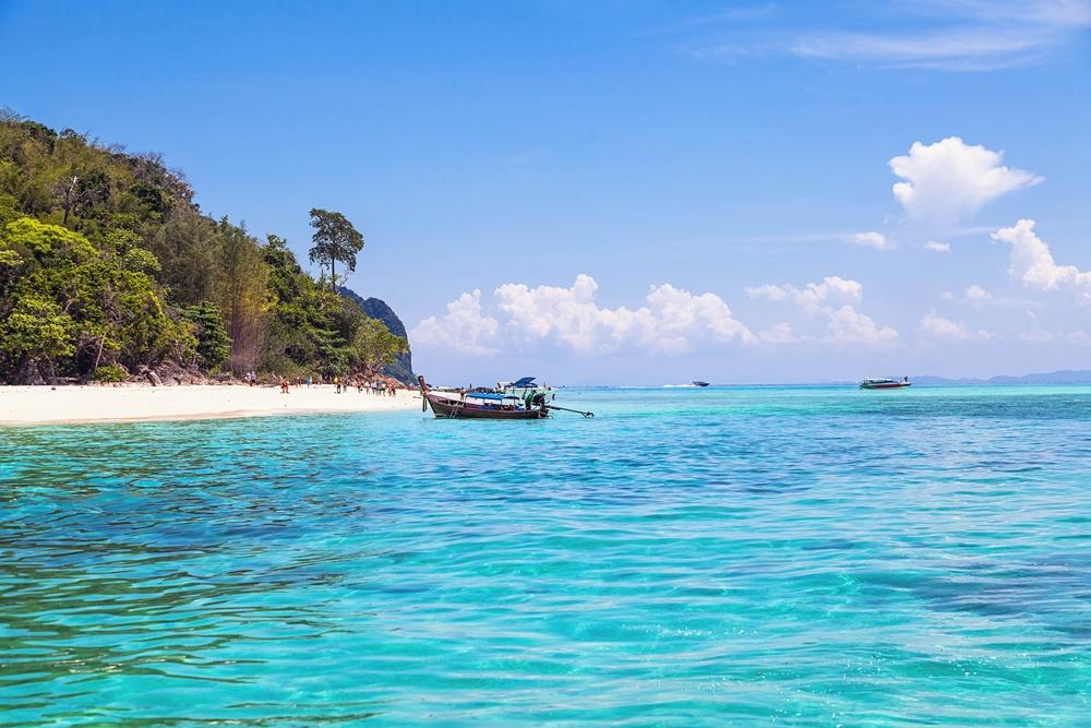 Island Mai Pai. Phi Phi archipelago. Thailand. Bamboo island